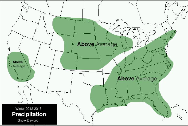 Winter Forecast 2012-2013 – Second Update