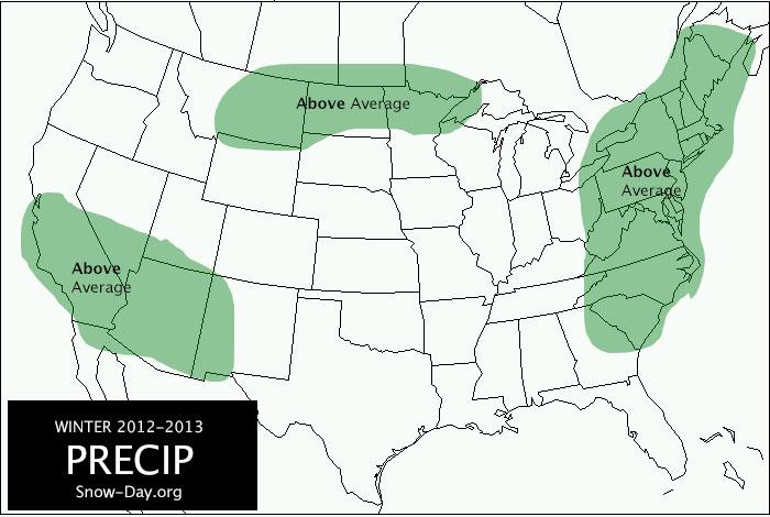 United States Temperature Map